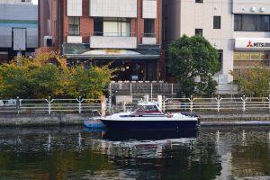 浜松町桟橋に係留されたアニー号