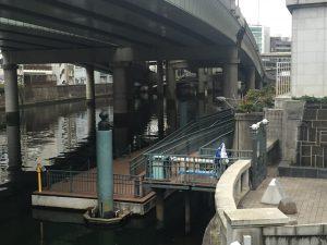 日本橋桟橋への入り口