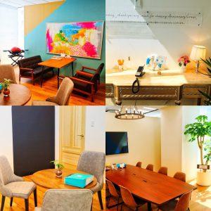 シーセレモニー事務所の打ち合わせスペースと会議室