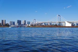 穏やかな東京湾