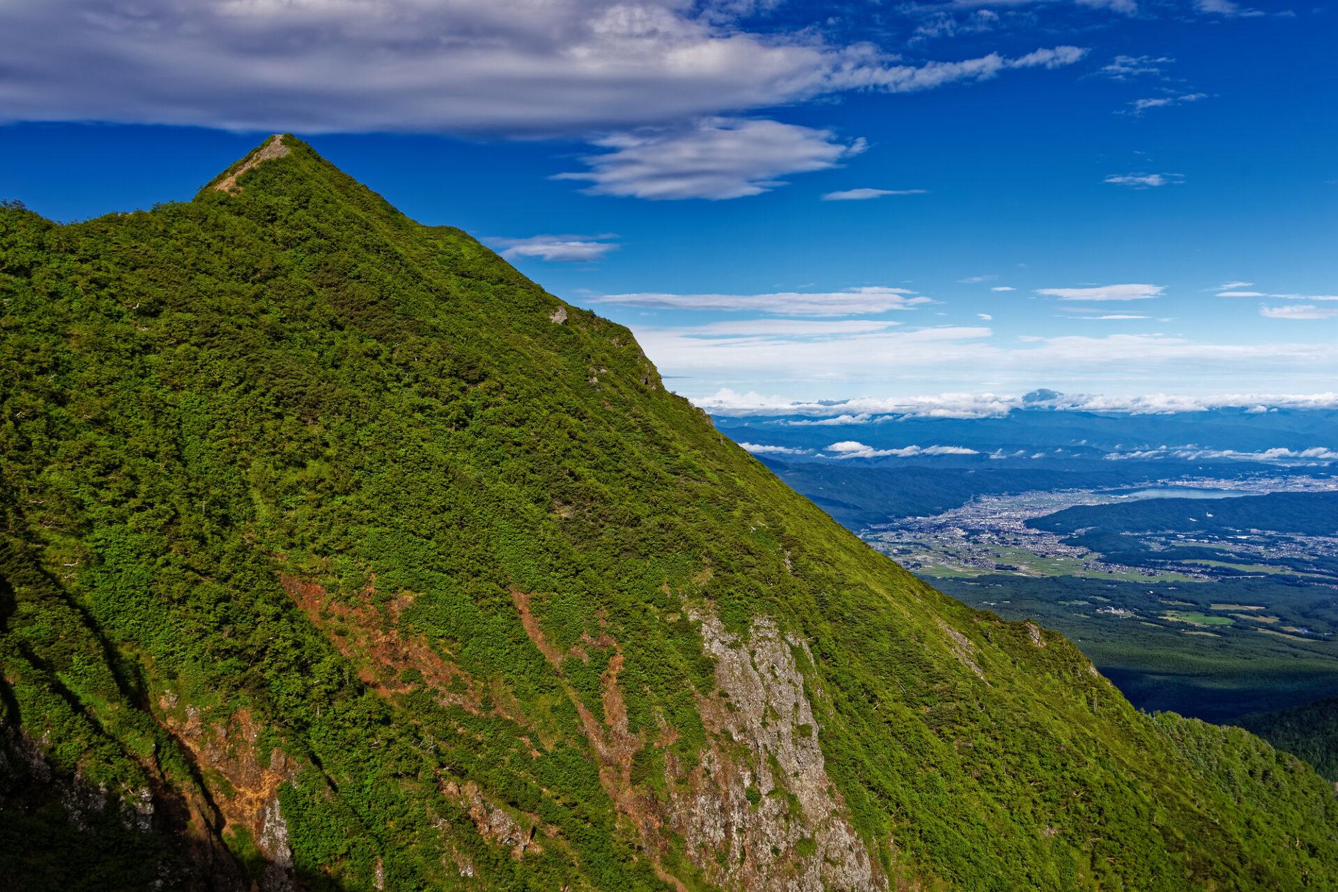 高い山と広大な土地