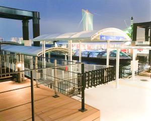 日の出ふ頭小型船ターミナルの乗船場所