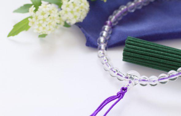 お線香や数珠、切り花