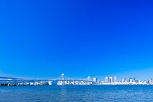 青い海と空