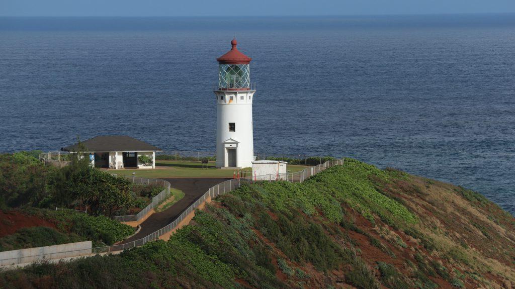 海の見える丘にたつ展望台