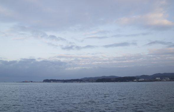 海から見る景色
