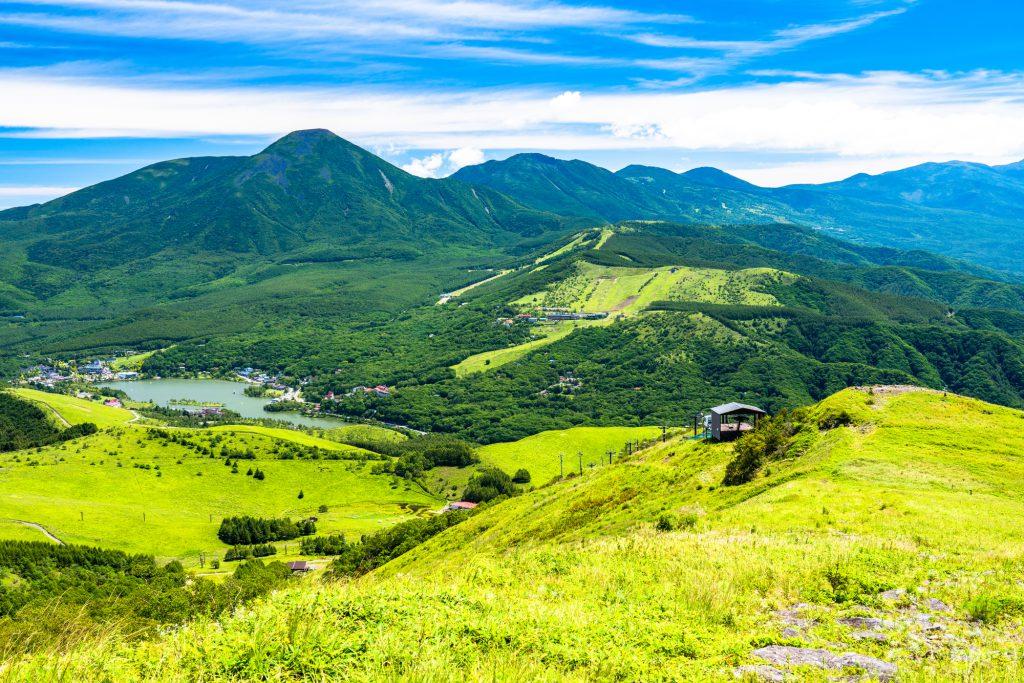 きれいな山