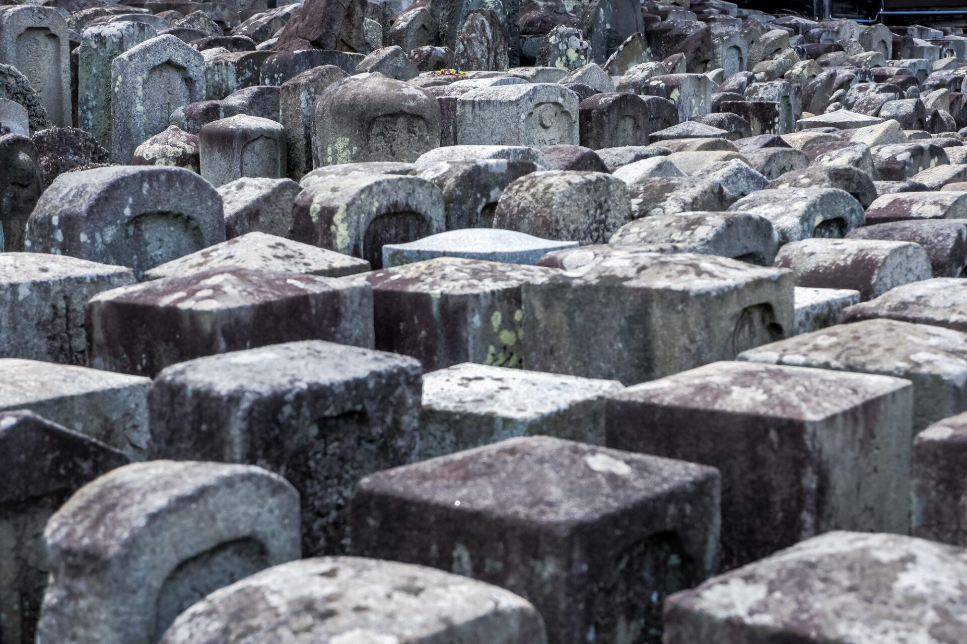 たくさんあるお墓