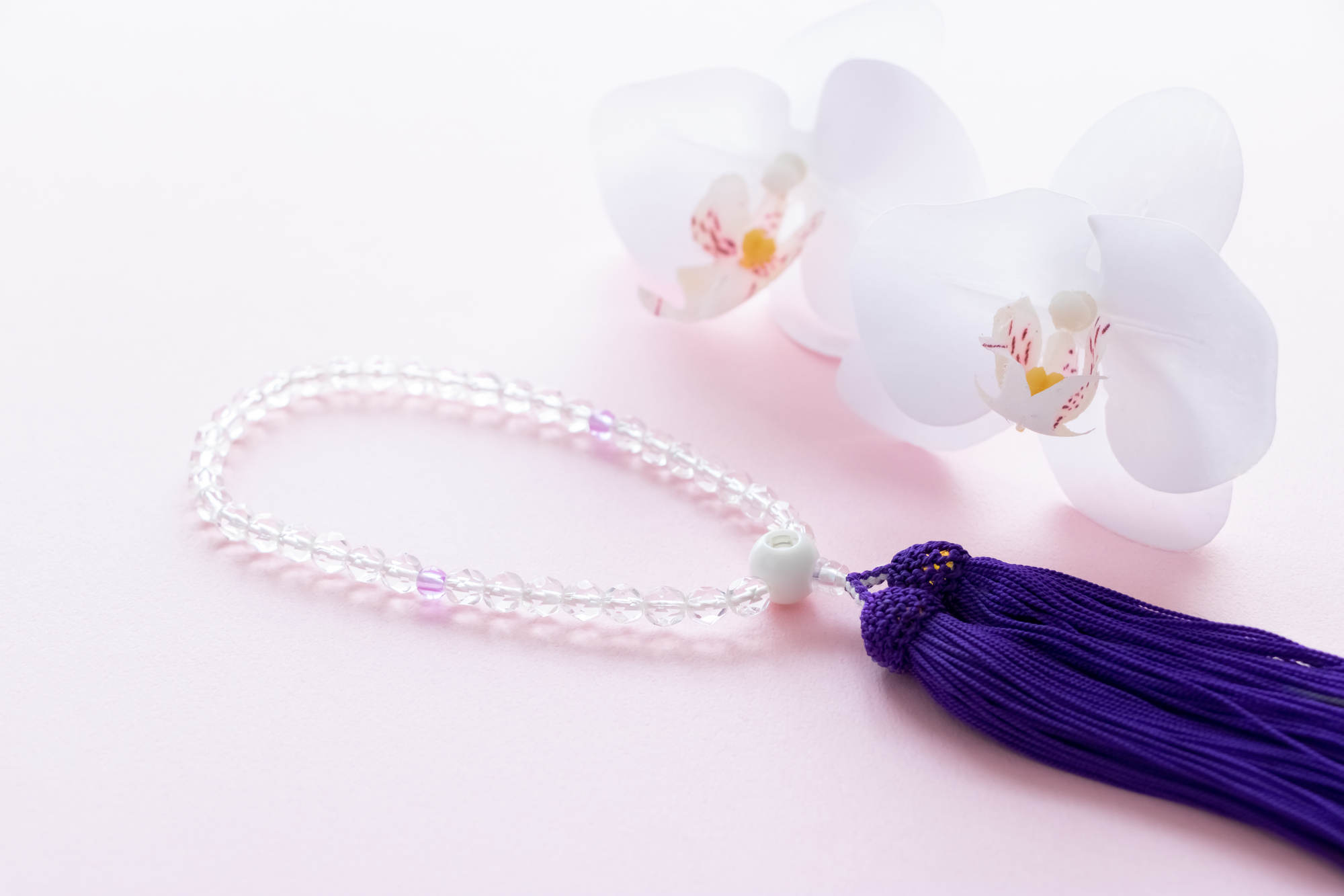 お花と数珠