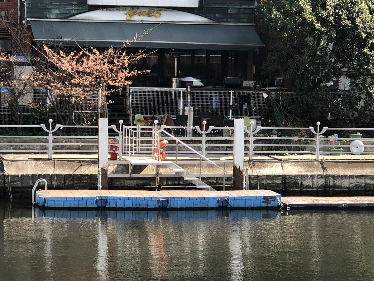 シーセレモニーのプライベート桟橋
